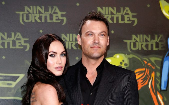Actress Megan Fox and husband Brian Austin Green welcomed their third child on Aug. 4. (Andreas Rentz/Getty Images for Paramount Pictures International)