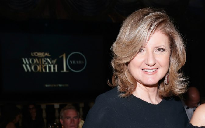 Arianna Huffington announced on Aug. 11 that she is stepping down as editor-in-chief of The Huffington Post. (Brian Ach/Getty Images for L'Oreal Paris)