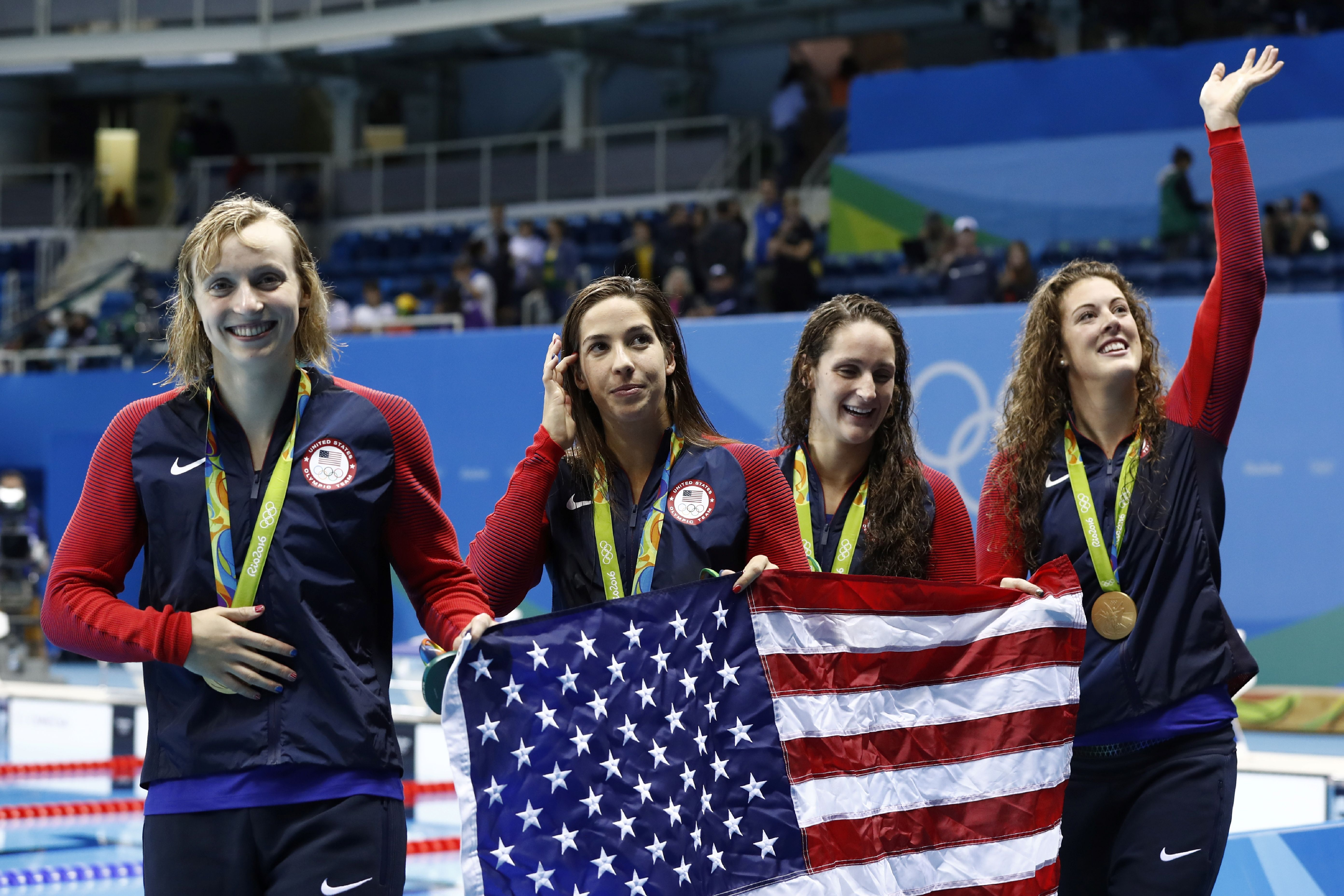 Why Michael Phelps Was Laughing During the National Anthem