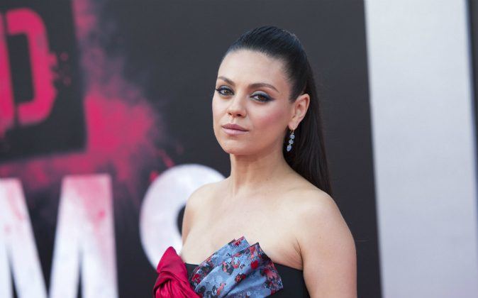 Actress Mila Kunis attends The Los Angeles Premiere of 'Bad Moms' in Westwood, California, on July 26, 2016. (VALERIE MACON/AFP/Getty Images)