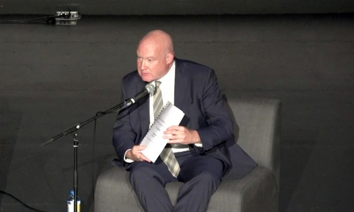 Ethan Gutmann at the Queensland Multicultural Centre, in Brisbane on Aug. 11, 2016. (NTD Television)