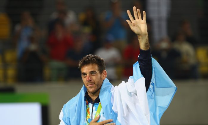Former US Open champion Juan Martin Del Potro had quite a run in the 2016 Olympics. (Clive Brunskill/Getty Images)
