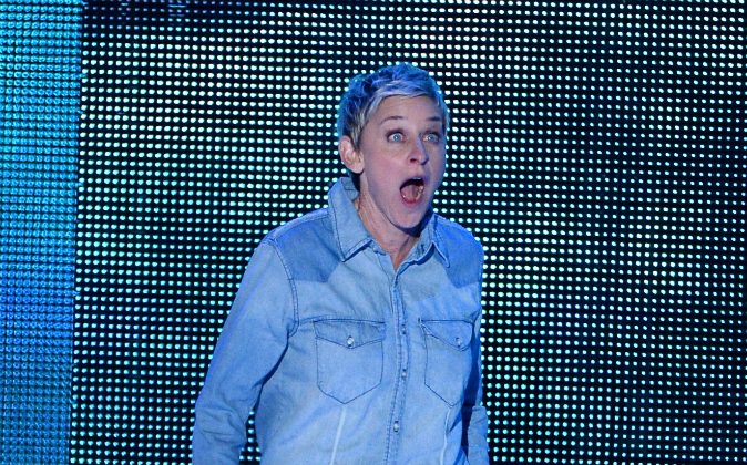 TV personality Ellen DeGeneres is accused of being