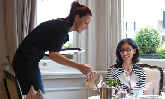 Competition Brewing for London Afternoon Teas