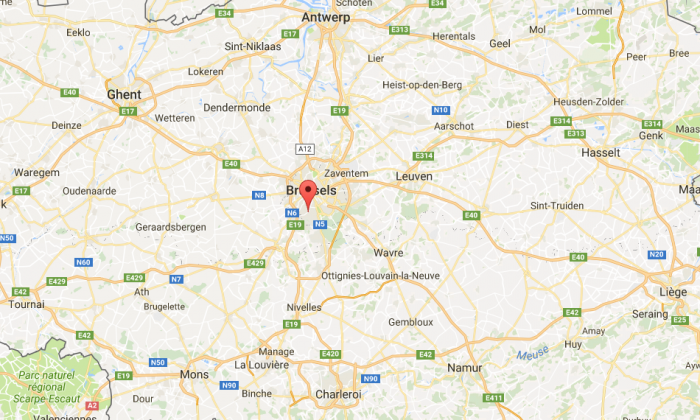 Uccle, Brussels (Google Maps)