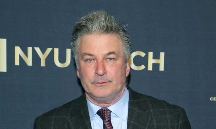 Alec Baldwin attends the NYU Tisch School of the Arts 50th Anniversary Gala at Jazz at Lincoln Center's Frederick P. Rose Hall in New York on April 4. (Photo by Andy Kropa/Invision/AP)