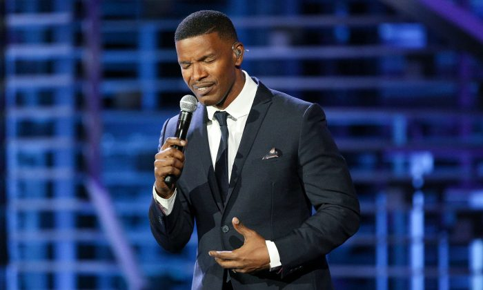 Jamie Foxx in a stock photo (Photo by Rich Fury/Invision/AP)