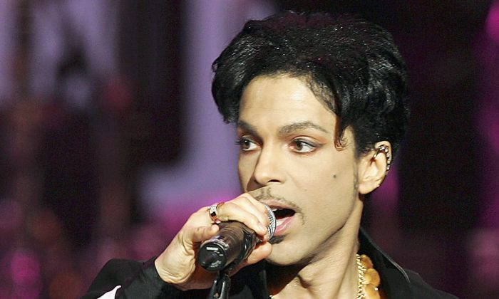 Musician Prince performed onstage at the 36th Annual NAACP Image Awards at the Dorothy Chandler Pavilion in Los Angeles,on March 19, 2005.  An investigation is underway to determine whether the pills that Prince had been taking were from illegal sources, the major supplier of which is China. (Kevin Winter/Getty Images)