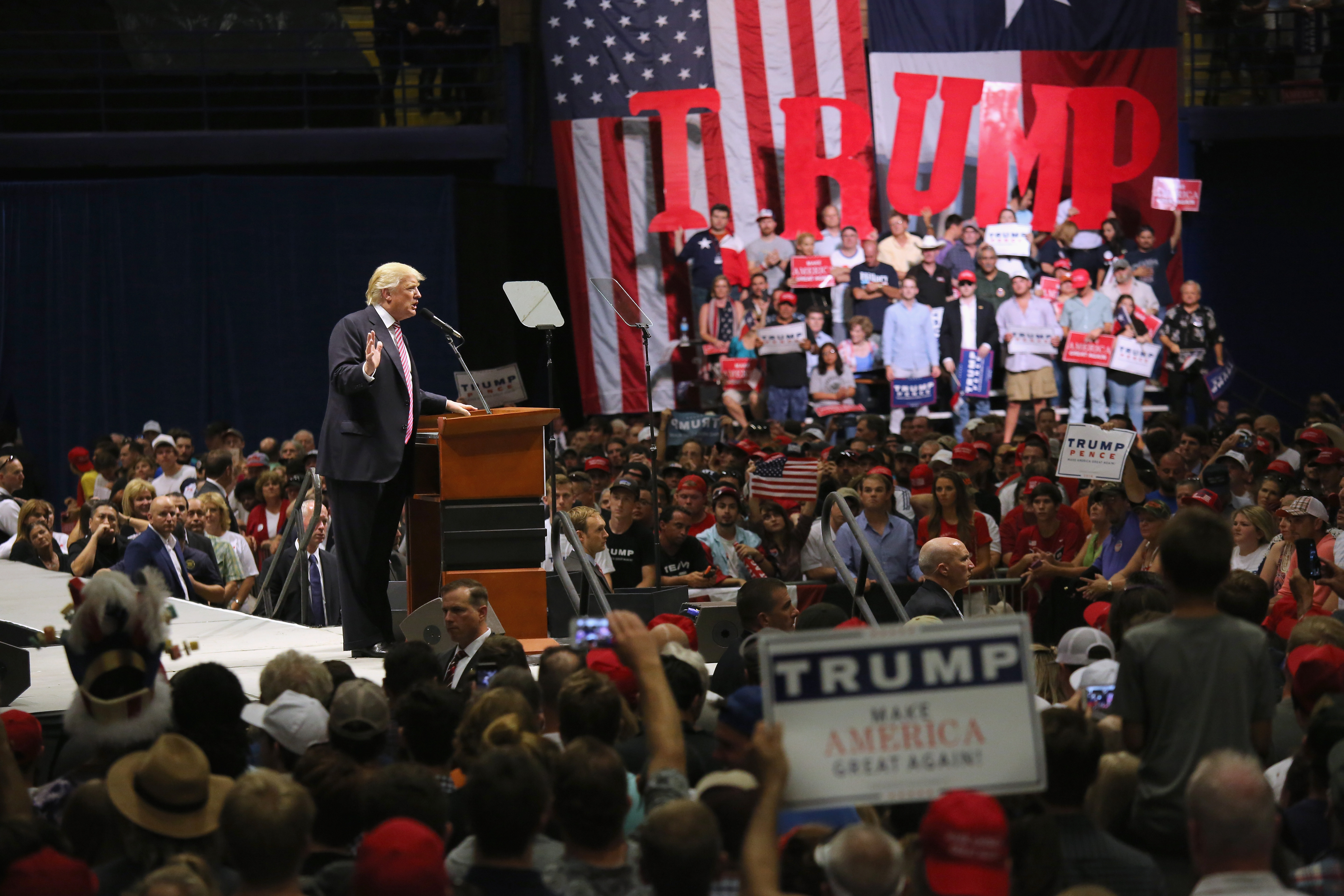 Trump Continues Outreach to Black Voters as He Tours the South