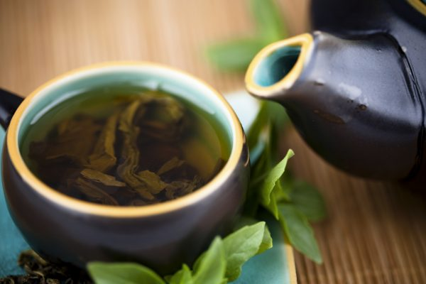 Heart disease Reduction food :Green tea
