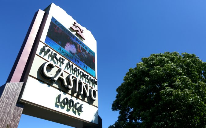 Spirit Mountain Casino in Grand Ronde, Ore., Monday, Aug. 15, 2016. The Grand Ronde Tribe expects to lose as much as 41 percent of its revenue after a decision by the U.S. Circuit Court of Appeals allowing the Cowlitz Tribe to build a casino in southwest Washington. A Detroit father was detained by police after he left his two young children were left in a car unattended while he gambled in MotorCity Casino on Aug. 29. (Anna Reed/Statesman-Journal via AP)