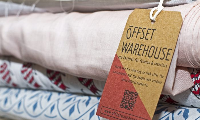UK eco-fabric company Offset Warehouse is helping designers make ethical choices when it comes to fabrics. (Courtesy of Charlie Ross)