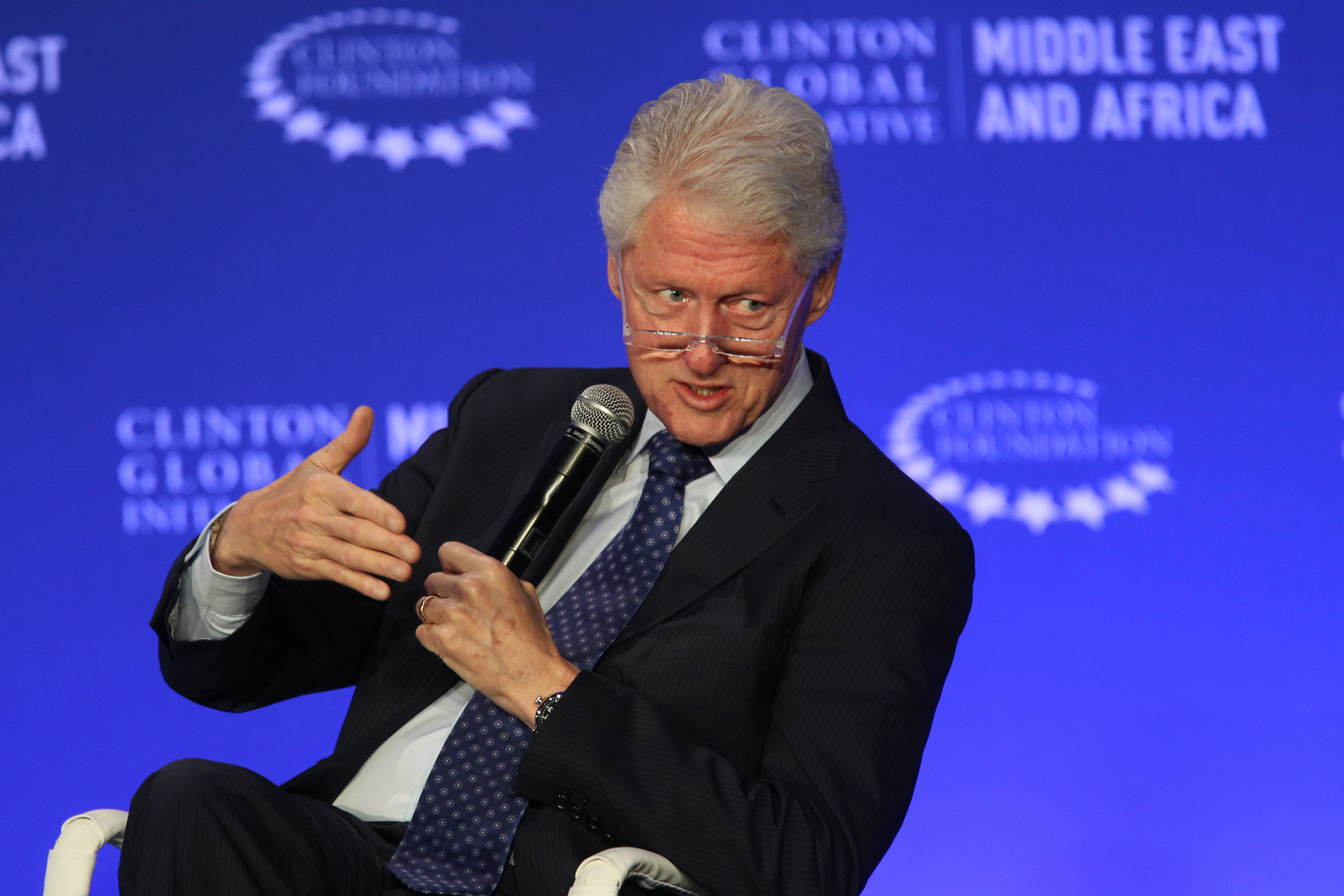 Clinton Says She Doesn't Recall Joking About Droning Assange