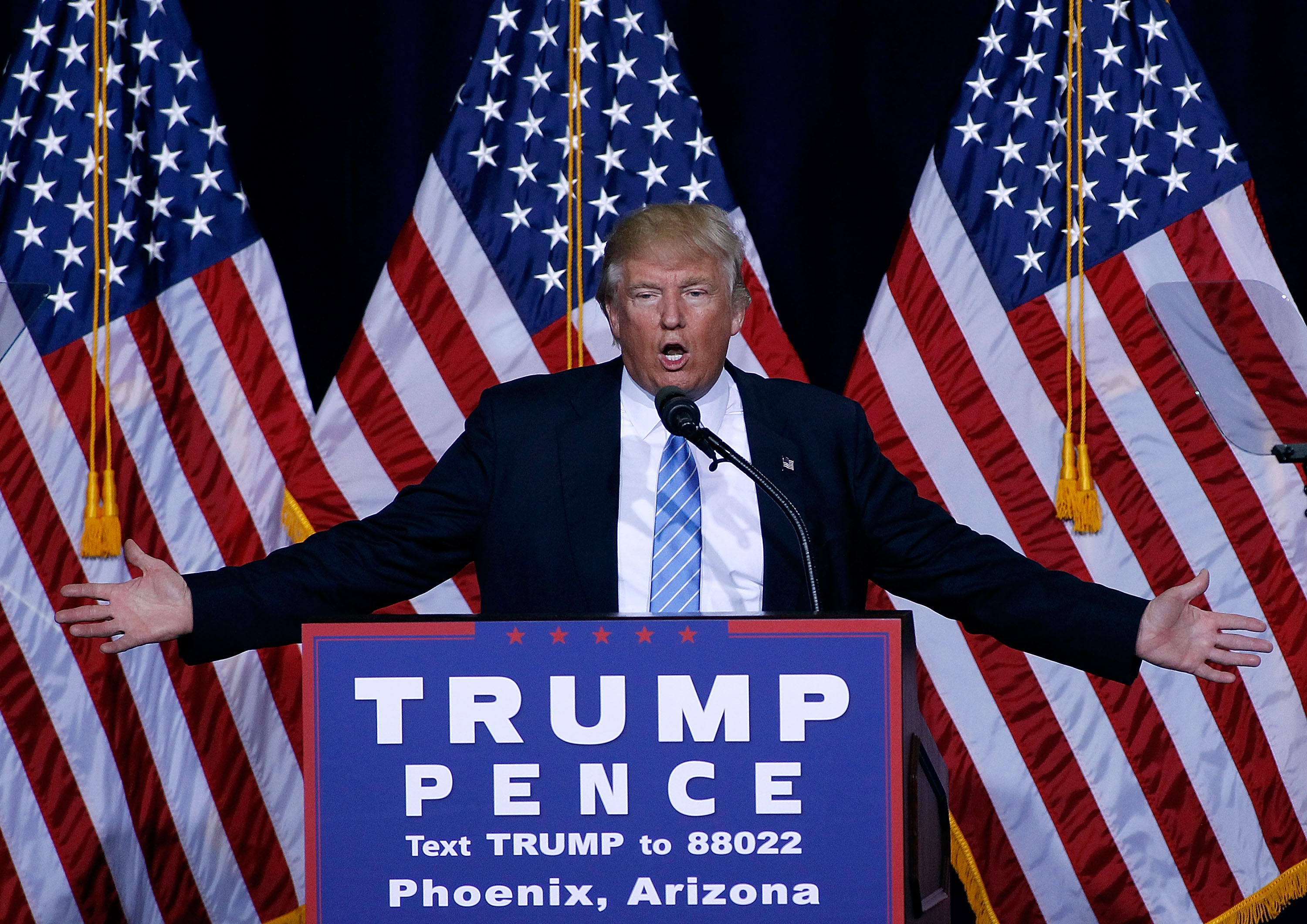 Latino Advocates Withdraw Support for Trump After Immigration Speech