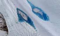 Study: Brilliant Blue Lakes Are Forming on East Antarctica, Could be Dire