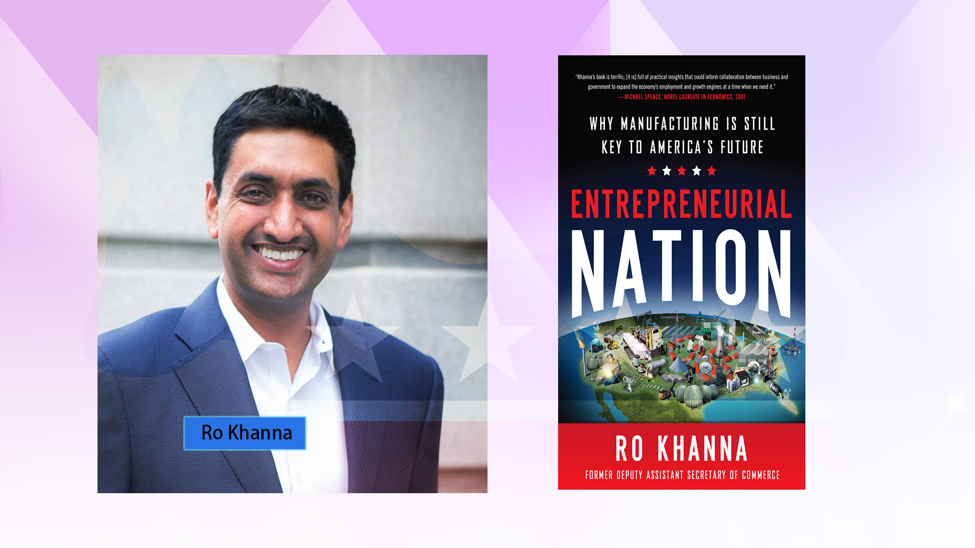 Congressional Candidate Ro Khanna Aiming to be a Voice for the Valley