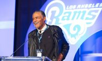 Rams Kick Off for Charity Luncheon