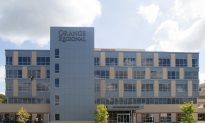 Orange Regional Finishes Cancer Center, Outpatient Building
