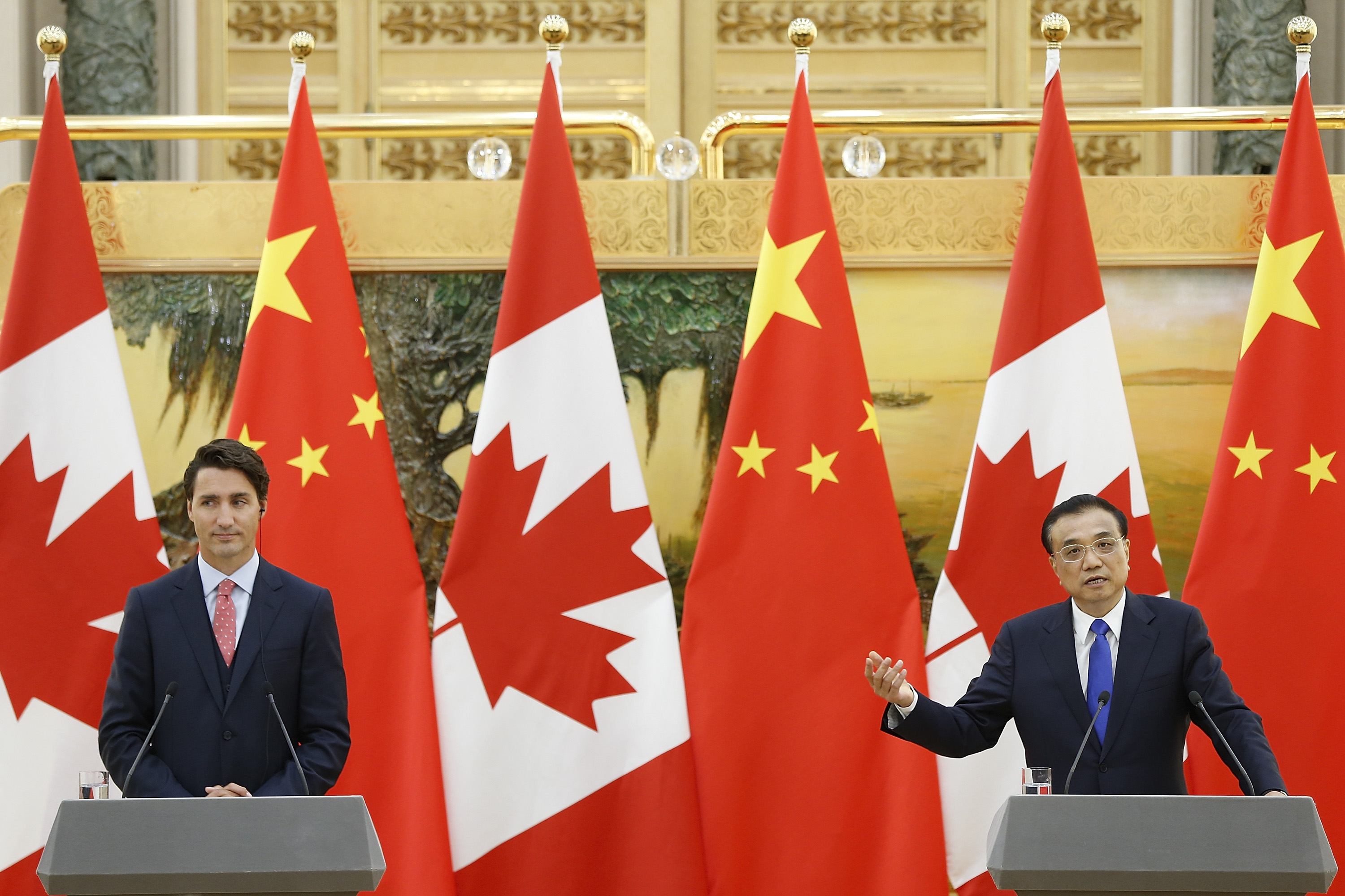 Pro-Beijing Groups Rally Support to Put on Big Welcome for Chinese Premier's Canada Visit