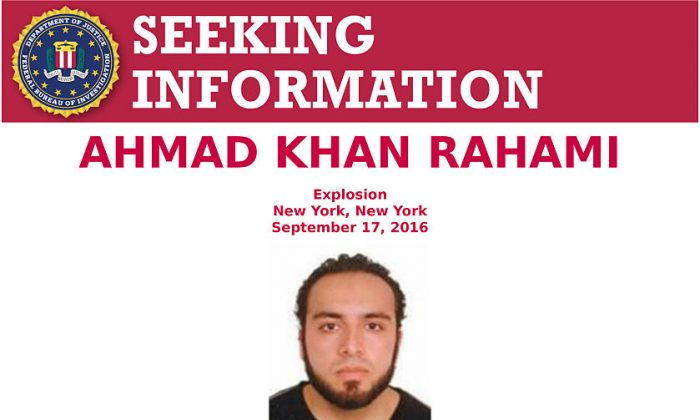 In this handout provided by the Federal Bureau of Investigation, Ahmad Khan Rahami poses for a mug shot photo. Rahami has since been captured by authorities. (Photo by FBI via Getty Images)