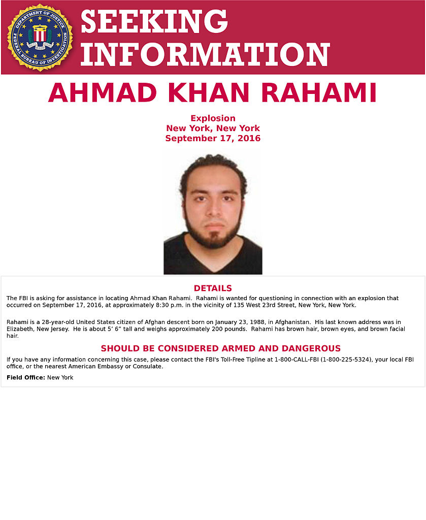 Authorities Seek to Question Wife of Suspected Bomber Ahmad Rahami
