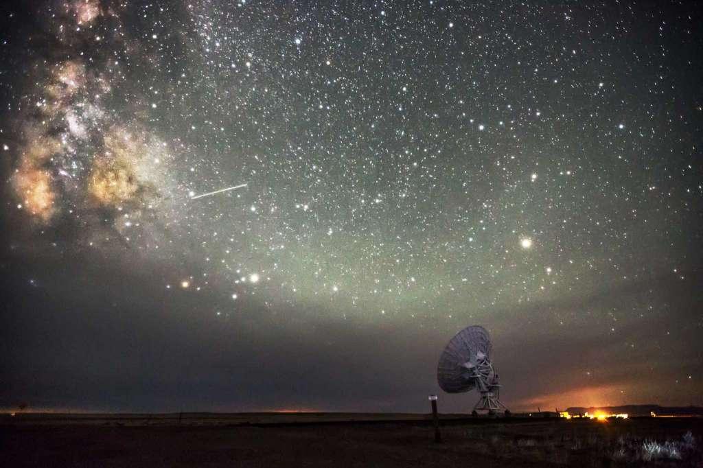 The night sky in New Mexico. (Harun Mehmedinovic and Gavin Heffernan/SKYGLOW)