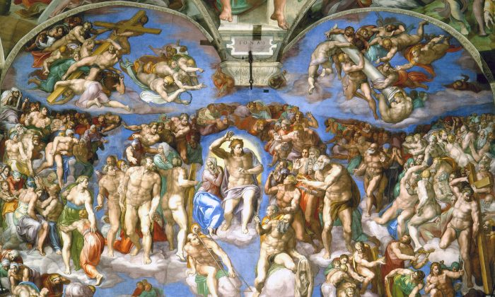Michelangelo's The Last Judgement, completed in 1541. (PD-Art)