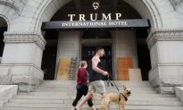 Donald Trump's Washington Hotel Was Vandalized
