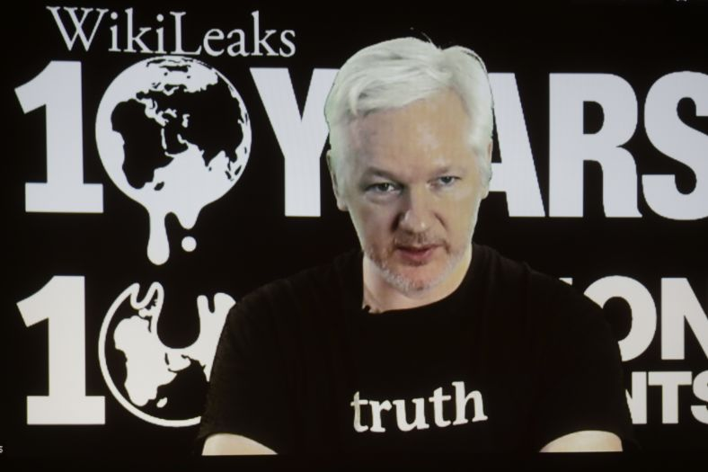 Clinton Campaign Warns: Any 'Whopper' From WikiLeaks Is 'Probably a Fake'