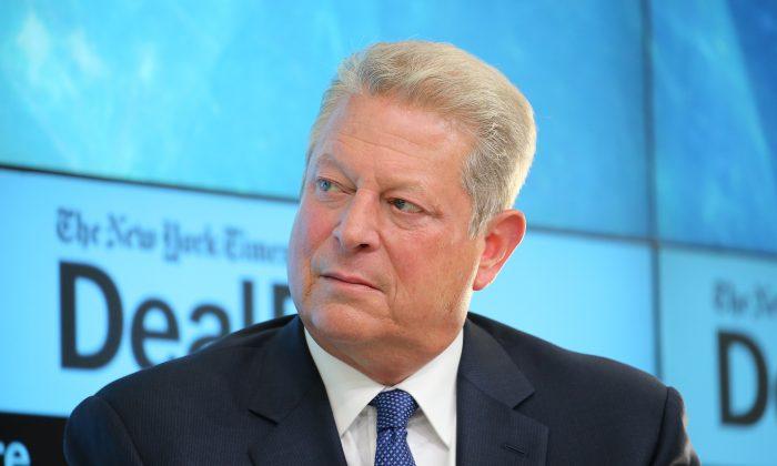 Former Vice President Al Gore in New York City on Nov. 3, 2015. (Neilson Barnard/Getty Images for New York Times)