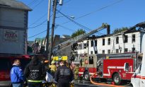 Fire Damages Buildings on Pike St in Port Jervis