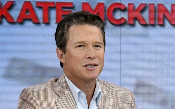 """Co-host Billy Bush appears on the """"Today"""" show in New York. (Peter Kramer/NBC via AP)"""