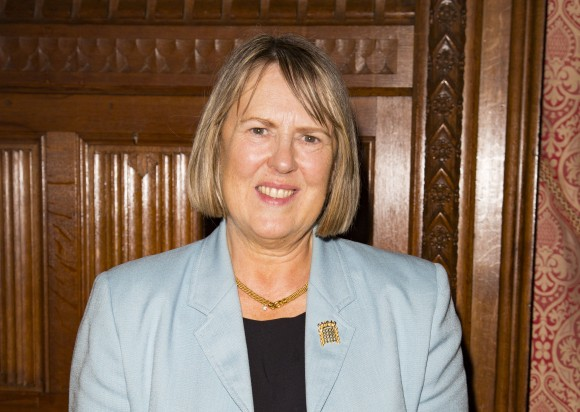 MP Fiona Bruce who attended the debate in Parliament on forced organ harvesting in China and has tabled a new Early Day Motion. (Si Gross/Epoch Times)