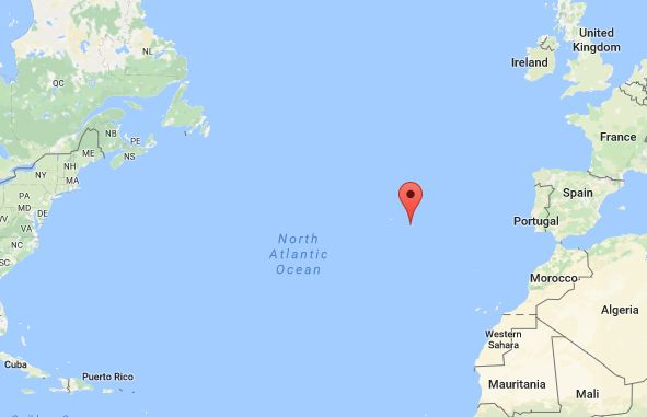 Controversy Surrounds Artifacts On Azores Islands Evidence Of - Portugal map azores