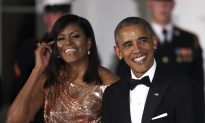 First Lady Draped in Versace at Final White House Dinner