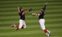 Indians Beat Cubs 6–0 in World Series Opener