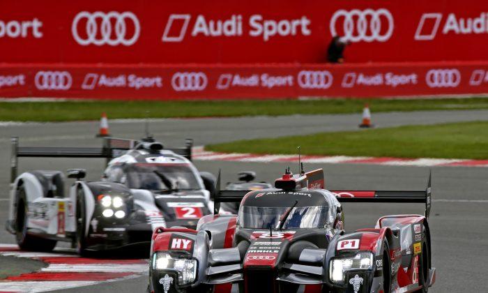 The #8 Audi R18 in action at the Fuji round of the 2016 World Endurance Championship. (Ferdi Kräling Motorsport-Bild GmbH)