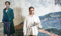 Artist Fernando Martin Diez-Cabeza Unveils 'The Gentleman With the Red Bow Tie'