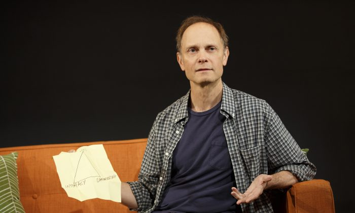 David Hyde Pierce as Nate Martin, a lonely man trying to deal with existential issues. (Joan Marcus)