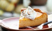 The Healthy Pumpkin Pie Cheesecake Recipe