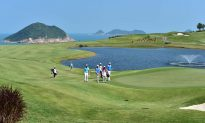 Beautiful Weather for Day 2 of the PGA Tour China Series Clearwater Bay Open