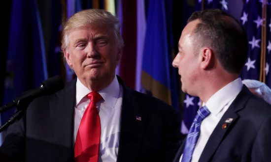 Priebus Tapped as Whitehouse Chief of Staff