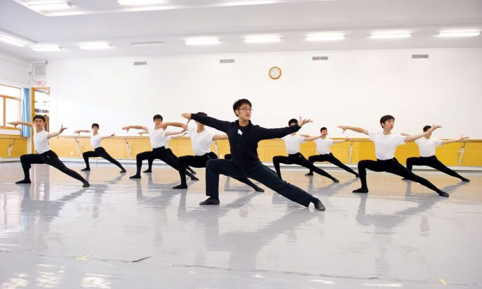 Dance students at the Fei Tian College in Cuddebackville, New York. (Fei Tian College)