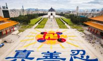 Over 6,000 Gather in Taiwan to Form Emblem of Falun Gong