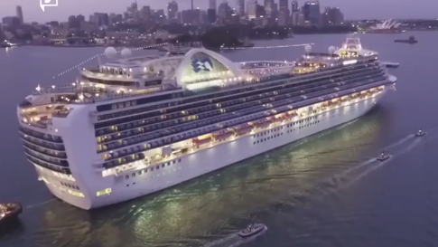Princess Cruises to Pay $40M Penalty for Polluting Ocean (Video)