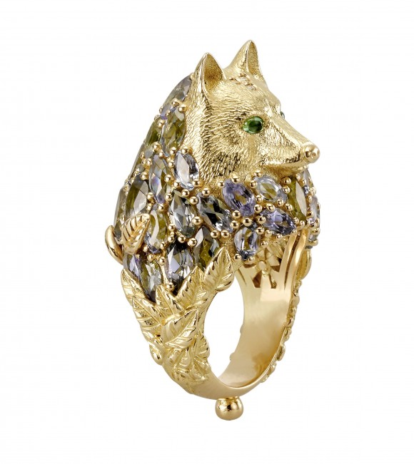 'Wolf,' part of the haute couture collection 'The Big Game.' (Temple St. Clair)