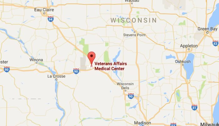 The Tomah Veterans Affairs Medical Center in Wisconsin (Google Maps)