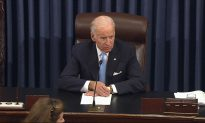 Biden Responds to Alleged Kissing Incident From 2014