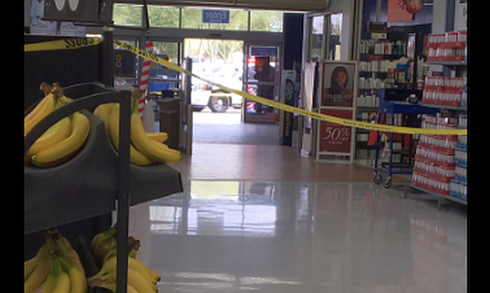 At least two people were shot and wounded inside a Walmart in Glendale, Arizona, on Wednesday, say police. (Glendale Police)