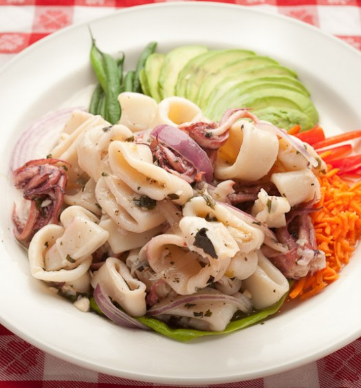Italian seafood salad. (Courtesy of Grand Central Oyster Bar)
